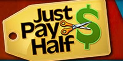 Just Pay Half